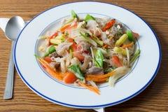 De salade van de grasnoedel Stock Afbeeldingen