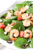 De Salade van de Grieks-stijl stock afbeelding