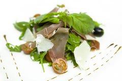 De Salade van de ham Royalty-vrije Stock Afbeeldingen