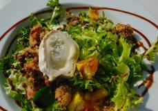 De salade van de kaas Royalty-vrije Stock Fotografie