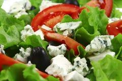 De salade van de kaas Stock Foto's