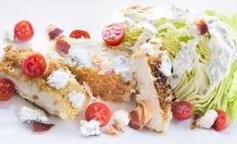De Salade van de kip BLT Stock Fotografie