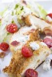 De Salade van de kip BLT Royalty-vrije Stock Fotografie