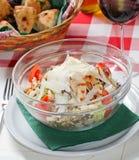 De Salade van de kip Royalty-vrije Stock Foto