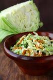 De salade van de koolsla Stock Foto's