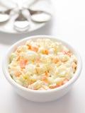 De salade van de koolsla royalty-vrije stock foto's