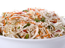 De Salade van de koolsla Royalty-vrije Stock Foto