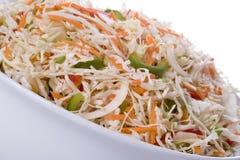 De Salade van de koolsla Royalty-vrije Stock Fotografie