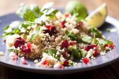De salade van de kouskous Royalty-vrije Stock Foto's
