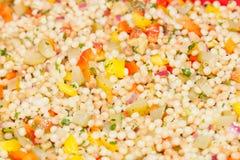 De salade van de kouskous stock foto's