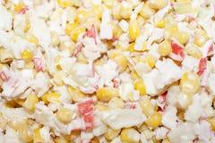 De salade van de krab Stock Foto