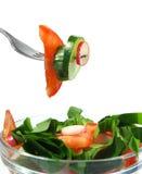 De salade van de lente Royalty-vrije Stock Fotografie