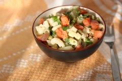 De salade van de macaroni royalty-vrije stock foto's
