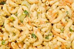 De Salade van de macaroni Royalty-vrije Stock Fotografie