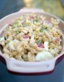 De Salade van de macaroni/van Deegwaren Stock Foto