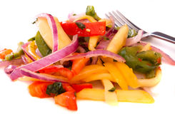 De Salade van de mango Royalty-vrije Stock Foto