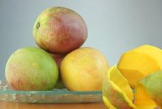 De salade van de mango Stock Foto's
