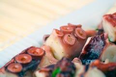 De Salade van de octopus Royalty-vrije Stock Foto's