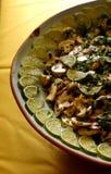De salade van de paddestoel Royalty-vrije Stock Foto's