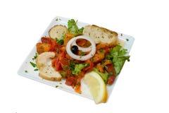 De salade van de peper Stock Fotografie