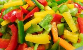 De salade van de peper stock afbeeldingen