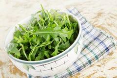 De salade van de raket Stock Foto's