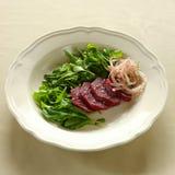 De salade van de raket, Libanees voedsel. stock foto's