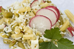 De Salade van de rijst Stock Foto
