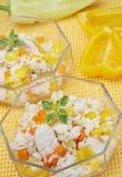 De salade van de rijst Stock Foto's