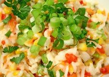 De Salade van de rijst Stock Afbeeldingen