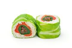 De Salade van de Rijst van sushi stock foto