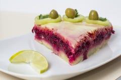 De salade van de rode biet Royalty-vrije Stock Fotografie