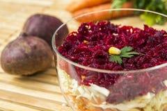 De salade van de rode biet Stock Foto
