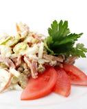 De Salade van de selderie en van de Kip stock fotografie