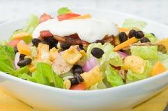 De Salade van de taco Royalty-vrije Stock Foto's