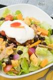 De Salade van de taco Stock Foto's