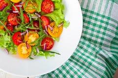 De salade van de tomaat Royalty-vrije Stock Foto's