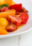 De salade van de tomaat Stock Afbeelding