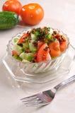 De Salade van de tomaat Stock Fotografie