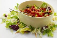 De salade van de tomaat Stock Foto's