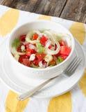De Salade van de tomatenvenkel Royalty-vrije Stock Fotografie