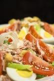 De salade van de tonijn Royalty-vrije Stock Foto's