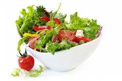 De Salade van de tuin Royalty-vrije Stock Foto's