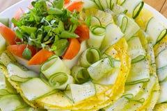 De salade van de verse Groente Stock Afbeelding