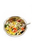 De salade van de vitamine Royalty-vrije Stock Foto's