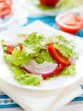 De salade van de vitamine met sesamzaden stock foto