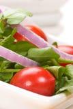 De salade van de witte waterkers Stock Foto