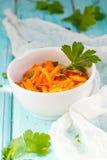 De salade van de wortel Stock Afbeelding