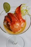 De salade van de zeekreeft royalty-vrije stock fotografie