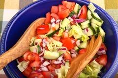 De salade van de zomer Stock Afbeelding